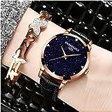 William 337 Damen Uhren Fashion Uhren Leder Wasserdicht Slim Uhren 6