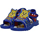 AIRPARK Unisex Kids Chu Chu Sound Musical First Walking Sandals for Baby Boys & Baby Girls