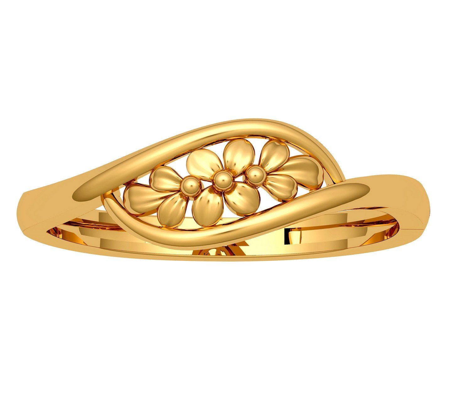 JewelOne 22k (916) Yellow Gold The Orosja Ring