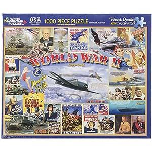Puzzle 1000 pièces - La seconde guerre mondiale
