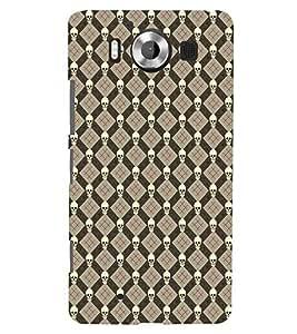Fuson Premium Dangerous me Printed Hard Plastic Back Case Cover for Microsoft Lumia 950