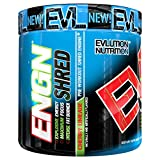 #9: Evlution Evlution Nutrition ENGN SHRED Pre workout Thermogenic Fat Burner Powder Energy Weight loss 30 Servings (Cherry Limeade)