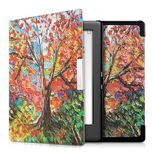kwmobile Coque liseuse Kobo Glo HD/Touch 2.0 - Coque avec Rabat magnétique en Simili Cuir pour liseuse Kobo Glo HD/Touch 2.0