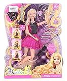 Pink Black Hairtastic Endless Curls Doll...