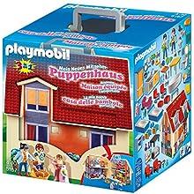 Playmobil 5167 Dollhouse Take Along Modern Dollhouse, For Children Ages 4+