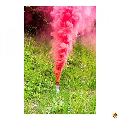 Rauchfackel für technische Anwendungen, 40g pro Patrone (Rot)