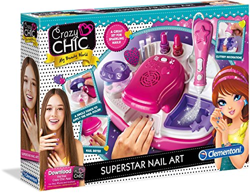 Clementoni 15174.5 Superstar Nageldesign Set
