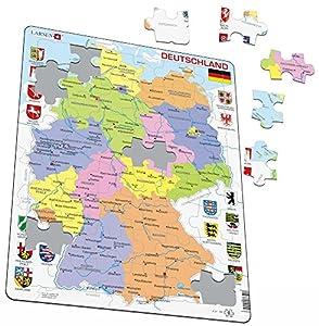 Larsen K21Marco Puzzle Alemania 48Piezas