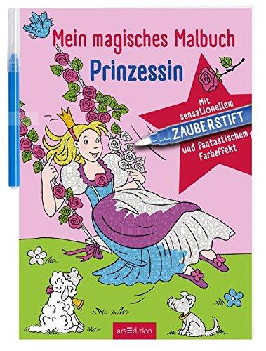 Mein magisches Malbuch Prinzessin