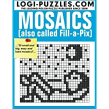 Mosaics: Also called Fill-a-Pix by LOGI Puzzles (2015-10-16)