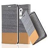 LG G2 Hülle in HELL-GRAU BRAUN von Cadorabo - Handy-Hülle