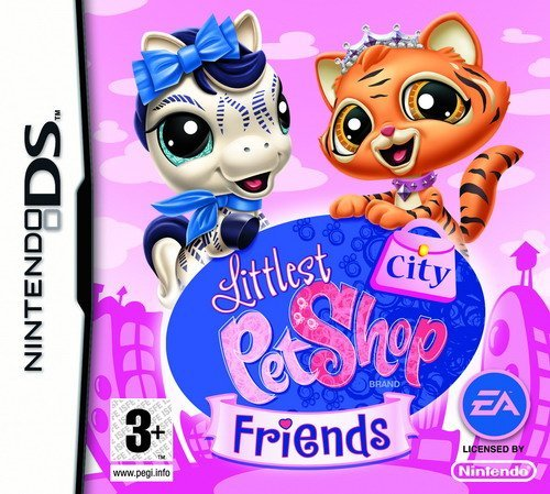 Littlest Pet Shop Friends: City (Nintendo DS) by Electronic Arts - Pet Shop Ds-littlest