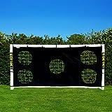 Torwand für große Fußballtore 7.3×2.4m - 2