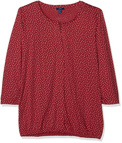 Tom Tailor 10356260970, Blouse Femme Rouge (Frozen Berry Sorbet 5682)