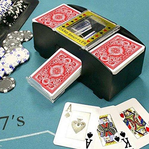 Mischiacarte automatico smazzatore da gioco mescolatore carte poker black jack