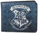 yvolve Harry Potter - Hogwarts Wappen - Geldbeutel | Offizielles Merchanise | Blau