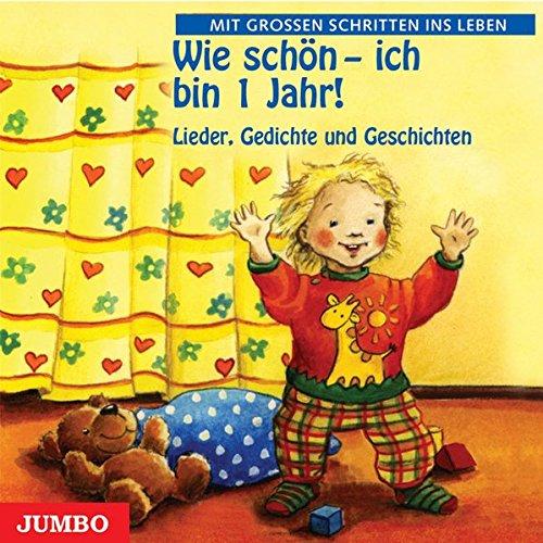1 Jahr. CD: Lieder, Kniereiter und Fingerspiele (Ente Fuchs-maske)