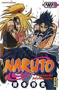 Naruto Edition simple Tome 40