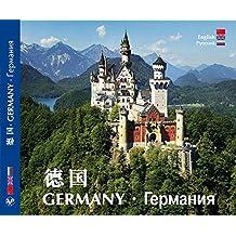 Kultur- und Bilderreise durch Deutschland - A Cultural and Pictorial Tour of Germany - Texte in Chinesisch/Englisch/Russisch