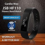 Best Pedometer For Women - Cardio Max JSB HF110 Fitness Band Watch Review