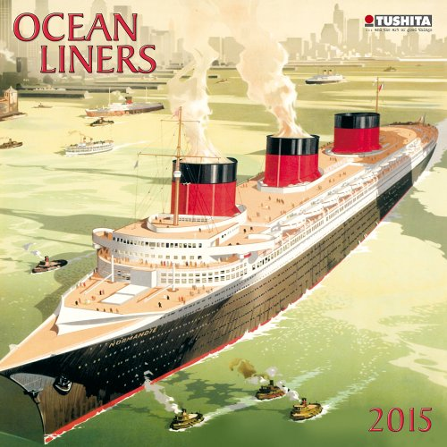 Ocean Liners 2015 Media Illustration