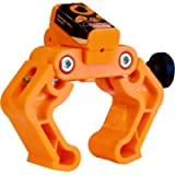 Laser Monkey Motorcycle Wheel Alignment Tool for Chain & Belts by Tru-Tension, orange