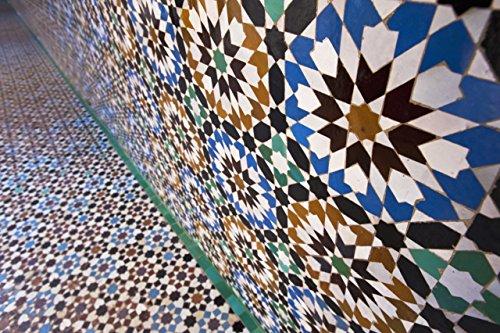 Berlintapete - Wallpaper On Demand - Fototapete - Illustration - Texturen - Mosaik In Marrakesch Nr. 17960 (Wallpaper Marrakesch)