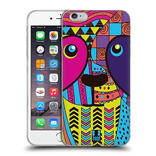 Head Case Designs Cane Animali Astratti Cover Morbida In Gel Per Apple iPhone 7 / iPhone 8 Panda