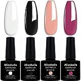 Allenbelle Smalto Semipermante Per Unghie Kit In Gel Uv Led Smalti Semipermanenti Per Unghie Nail Polish UV LED Gel Unghie (0