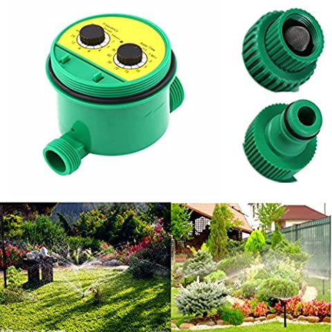 KING DO WAY Automatic Water Timer Garden Irrigation Controller Hose Timer Garden Plant for 1/2 inch and 3/4 inch Connector