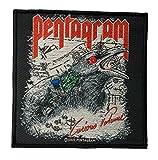 Pentagram Curious Volume Aufnäher Patch - Gewebt & Lizenziert !!