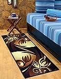 #9: Wow Abstract Design Nylon Bed Side Runner ( 56x140 cm )
