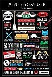 Friends PopArtUK Poster série Patchwork Maxi Poster