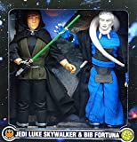Jedi Luke Skywalker and Bib Fortuna 'Return of the Jedi' in Box 12' Inch, 30 cm Actionfigur Star Wars Power of the Force Collection 1997 Hasbro