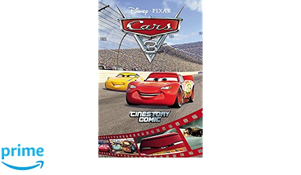 Disney/Pixar Cars 3 Cinestory Comic