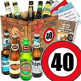 Bier-Set zum 40. Geburtstag
