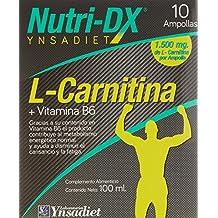 Nutri-Dx L Carnitina - 10 Ampollas