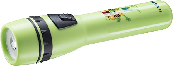 Varta die Biene Maja Taschenlampe (geeignet für Kinder inkl. 2x High Energy AA Batterien, für Kinderzimmer Kindergeburtstag, 5 mm LED)