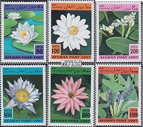 Prophila Collection Afghanistan 1733-1738 (kompl.Ausg.) 1997 Wasserpflanzen (Briefmarken für Sammler) Pflanzen