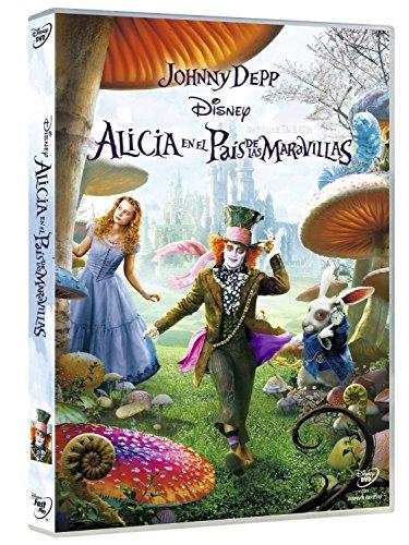 Alicia En El País De Las Maravillas (Tim Burton) [Blu-ray]