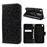 Glitter Powder Wallet Leather Stand Tasche Hüllen