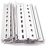 beihuazi® 6 stuks montagerails DIN-rail hangrail kast voor verdeelkast schakelkast inbouw, 35 mm breed, 7,5 mm hoog, lengte 2