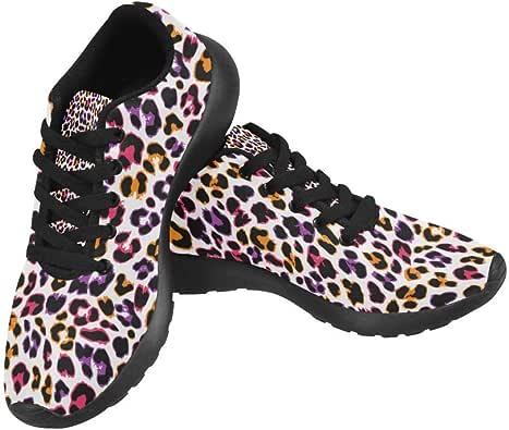 Zenzzle Colorful Leopard Pattern Print on Women's Running