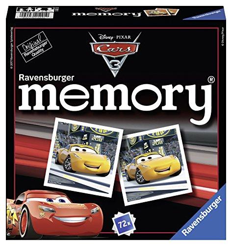 Preisvergleich Produktbild Ravensburger 21291 - Cars 3 memory Spiel