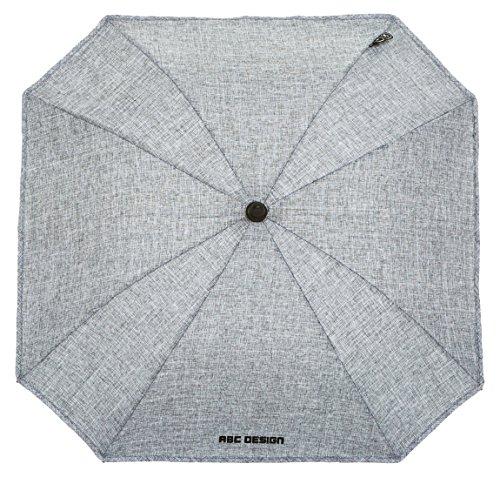 ABC Design 91318701 Regenschirm/Sonnenschirm, Farbe: Graphite (Grau)