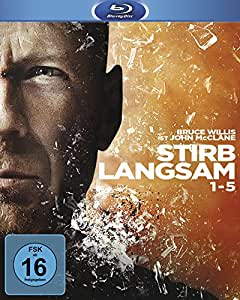 Stirb langsam 1-5 [Blu-ray]: Bruce Willis