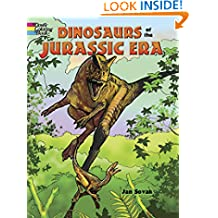 Dinosaurs of the Jurassic Era (Dover Nature Coloring Book)