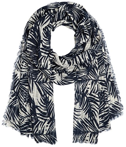 PIECES Damen Schal PCSIMBA Long Scarf, Mehrfarbig (Navy Blazer), One Size
