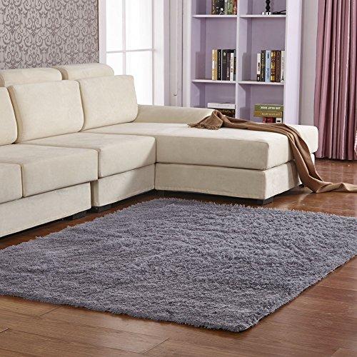 Qwer Haushalt Wohnzimmer Couchtisch Schlafsofa home Teppich Schlafzimmer, und kurze Cashmere 120 x 160 cm, braun Teppiche