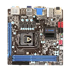 Sapphire Pure Platinum H67 IPC-CI7S10H67 Carte-mère mini ITX LGA1155 Socket H67 USB 3.0 Bluetooth, Gigabit Ethernet carte graphique embarquée (unité centrale requise) audio HD (8 canaux)